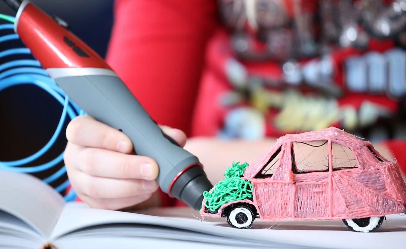 Scribbler+DUO+Dual+Nozzle+3D+Printing+Pen