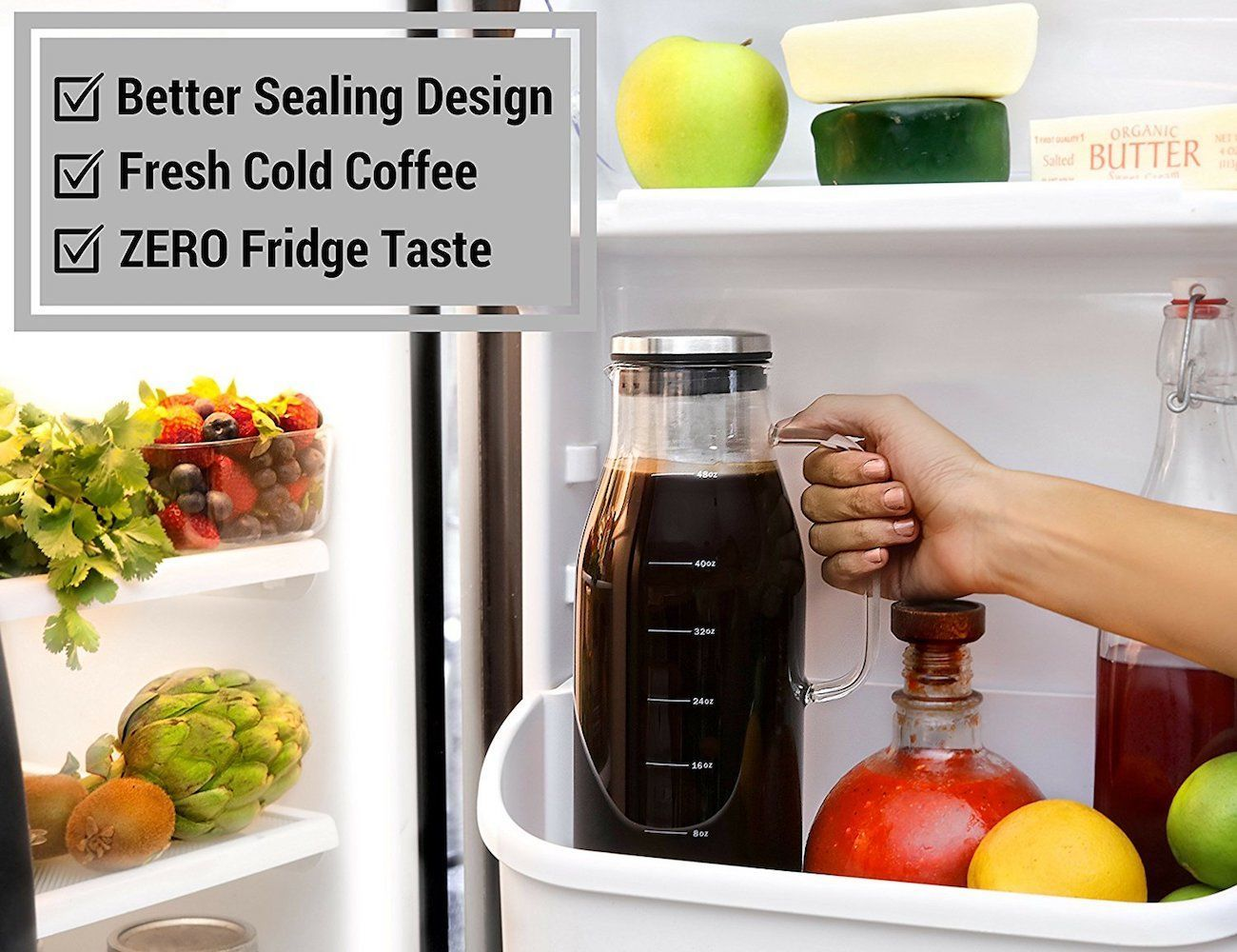Sealing Cold Brew Coffee Maker