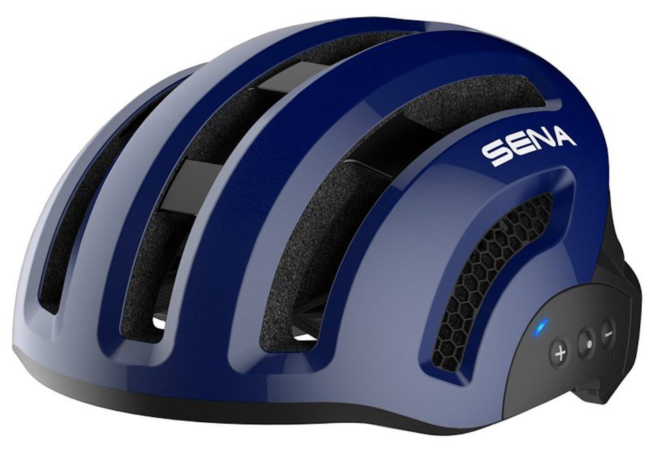 You've Got to See this Bluetooth-Connected Bike Helmet