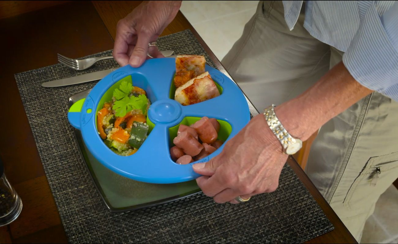 Skinnyplate Portion Control Plate 187 Gadget Flow