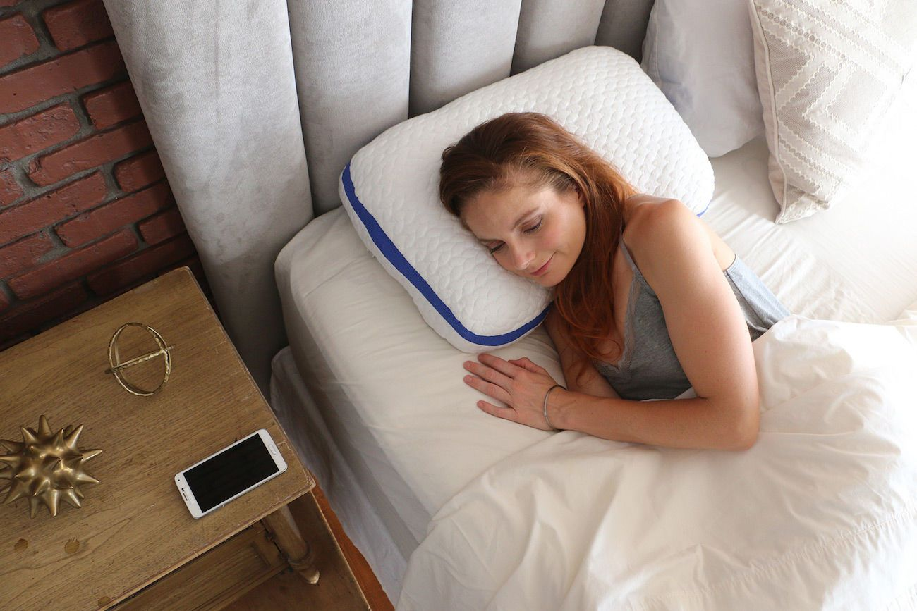 SleepSmart Intelligent Adjustable Pillow