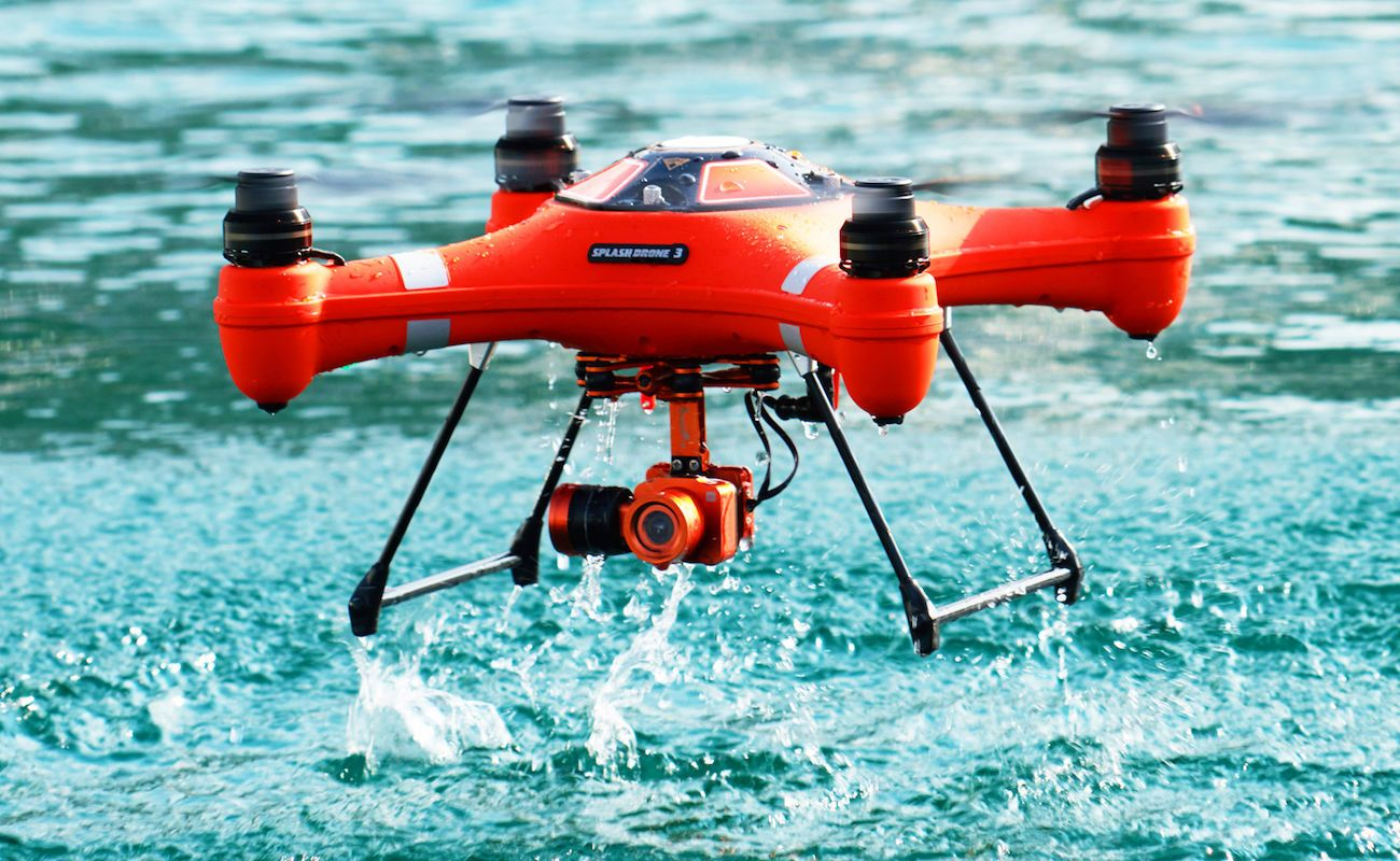 Splash Drone 3 Auto Waterproof Drone
