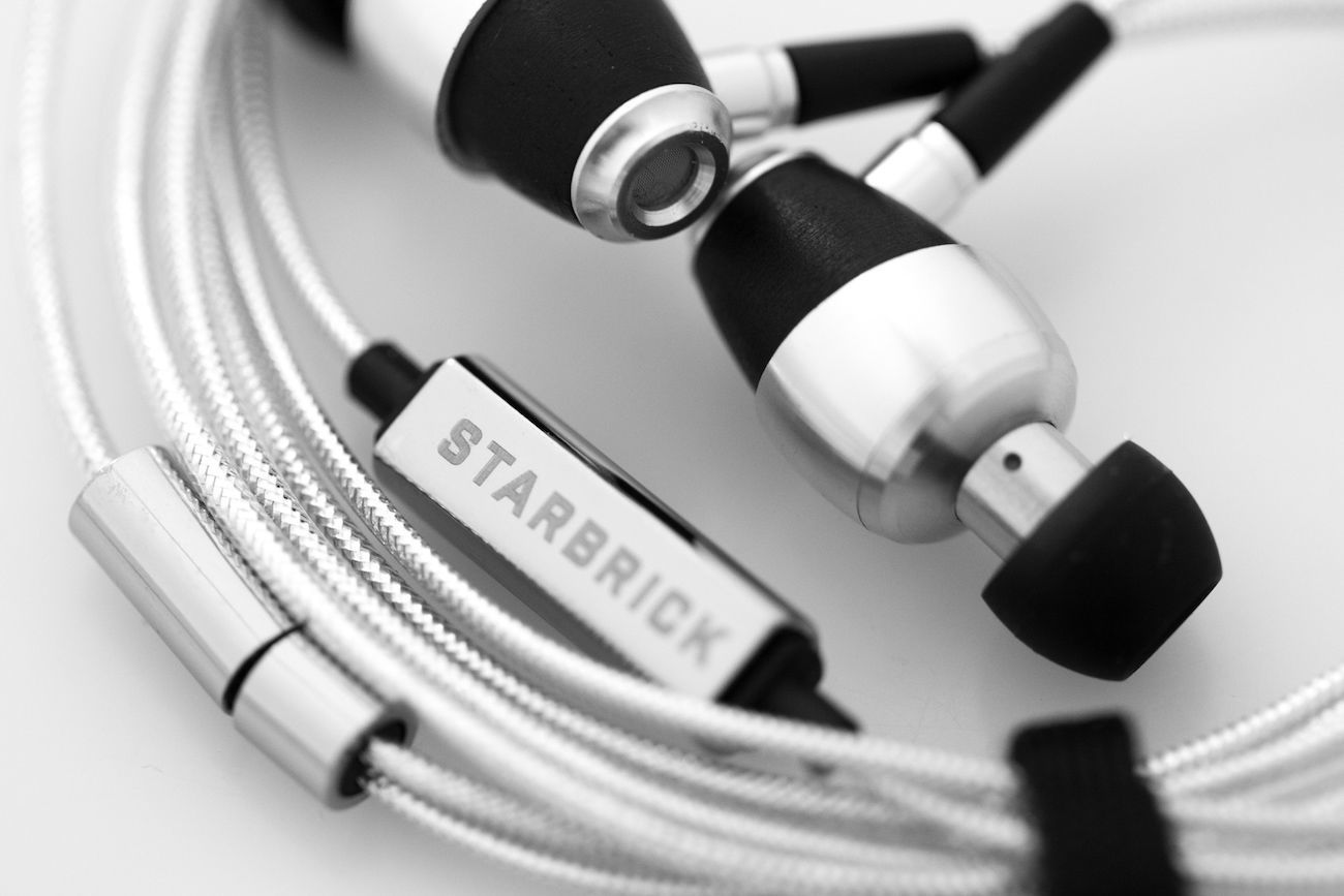 Starbrick Be4 Beryllium Earphones