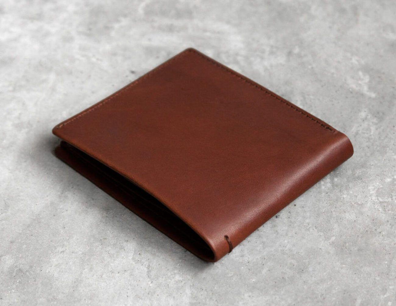 Steinbeck Leather Billfold Wallet