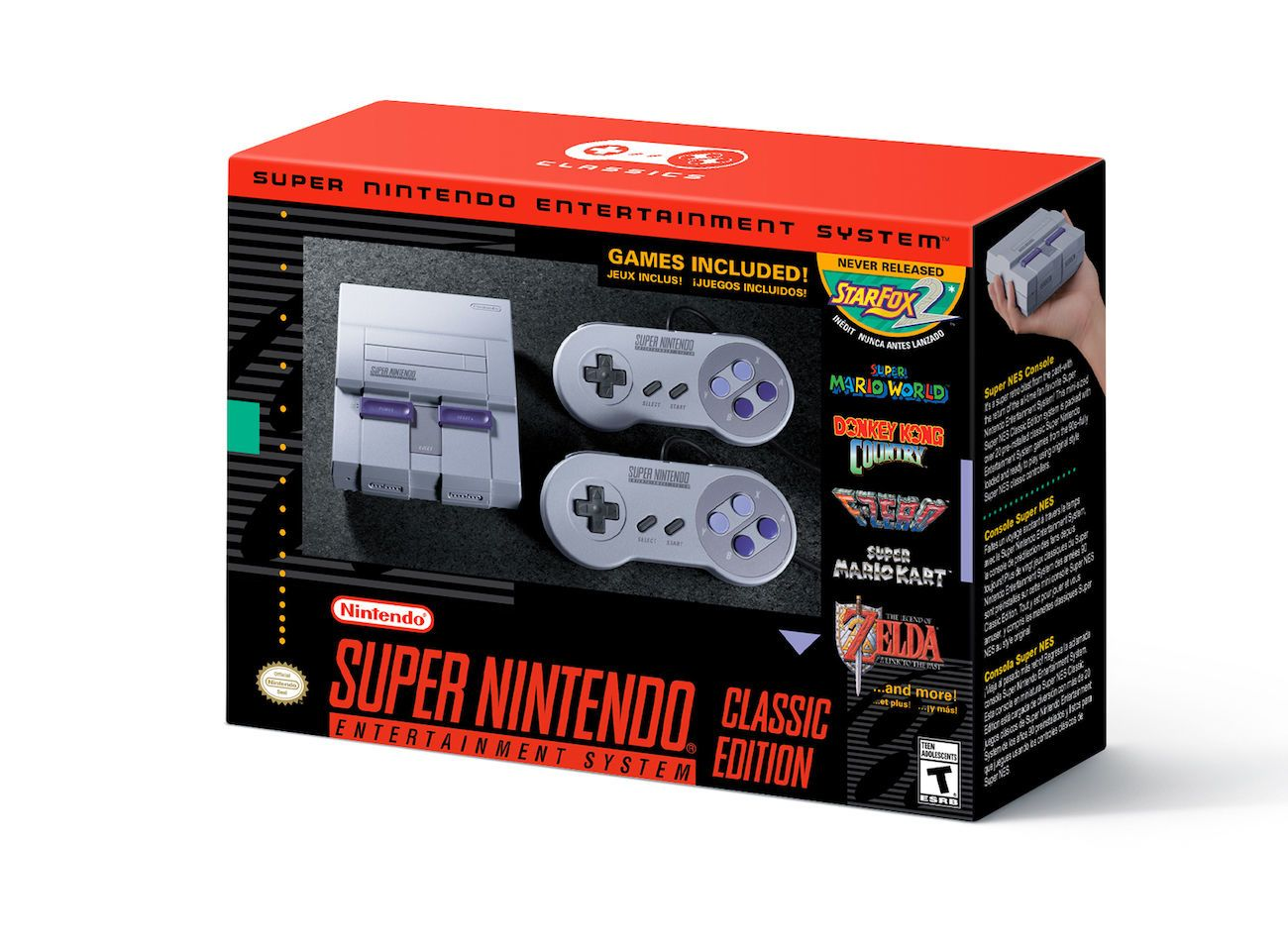 Super NES Classic Edition Gaming Console