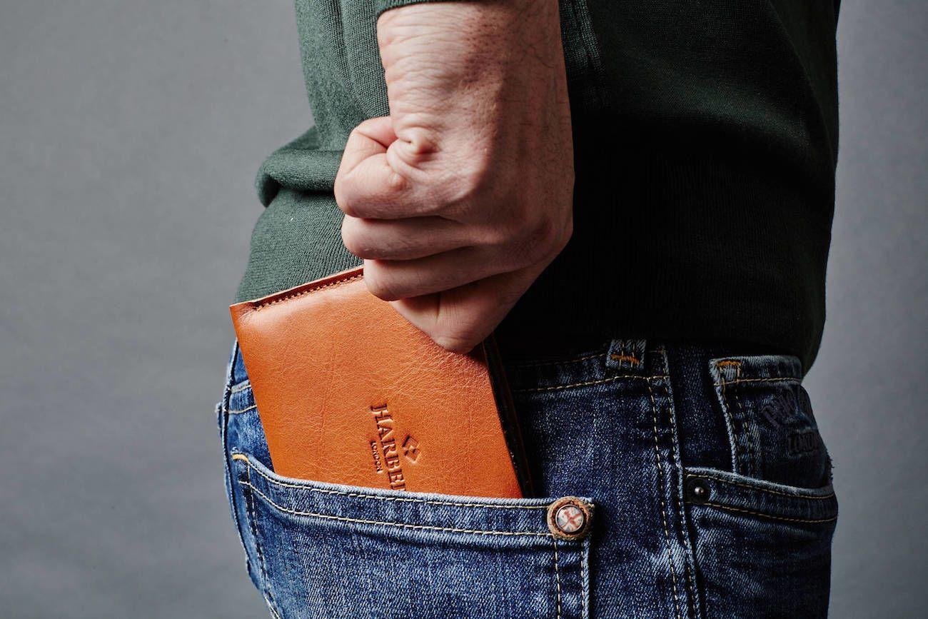 Super Slim Leather Passport Cover