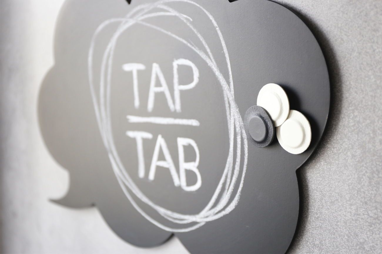 TAP-TAB Magnetic Organization System