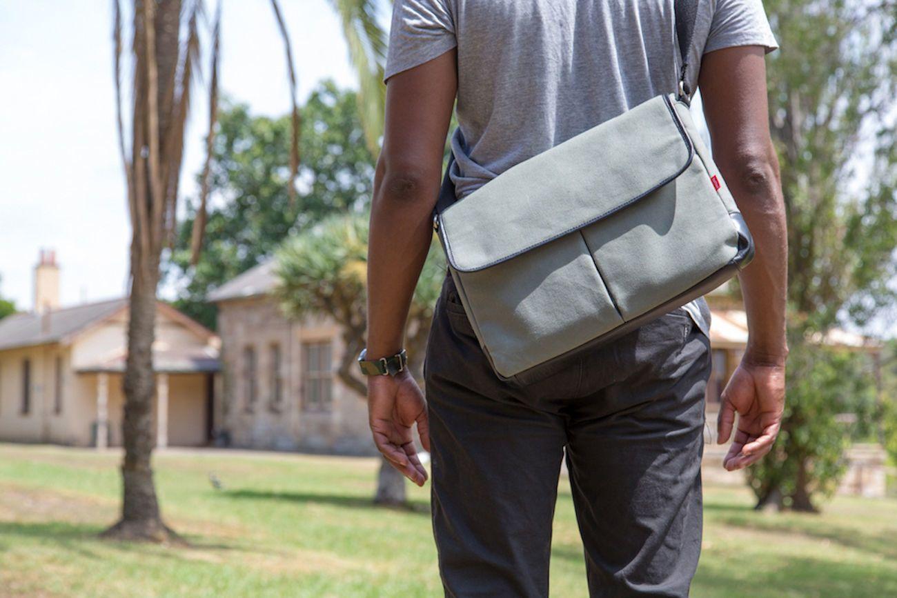 Toffee Commuter Satchel Bag