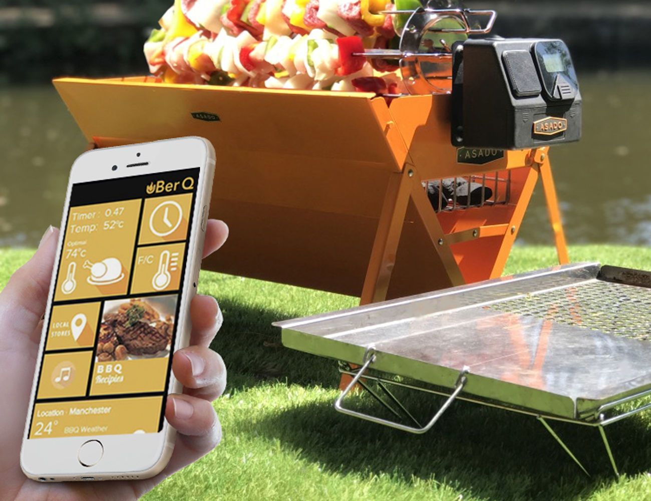 UberQ+Smart+Portable+Multi+Griller