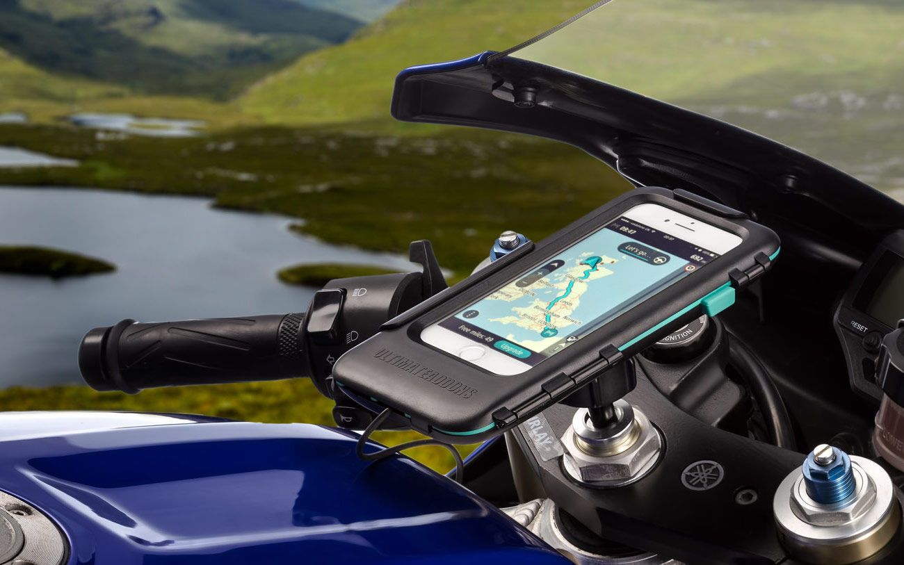 Ultimateaddons iPhone Motorcycle Mount