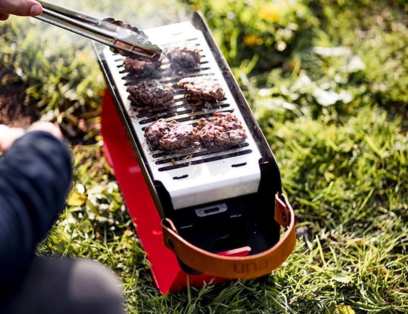 Una Portable Table Top Grill