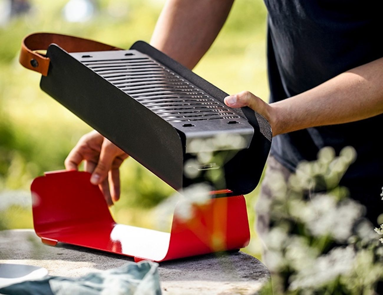 Beau Una Portable Table Top Grill