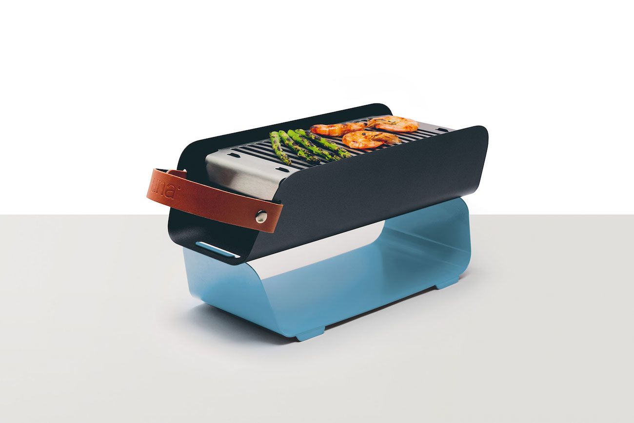 Una Portable Table Top Grill
