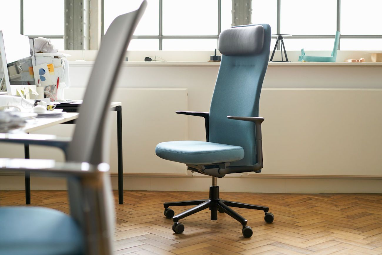 Vitra+Pacific+Minimalist+Desk+Chair