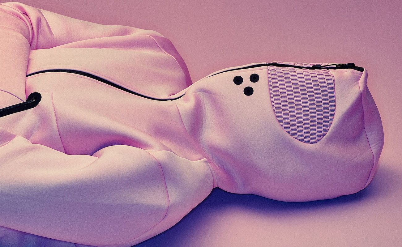 Vollebak Baker Miller Pink Relaxation Hoodie