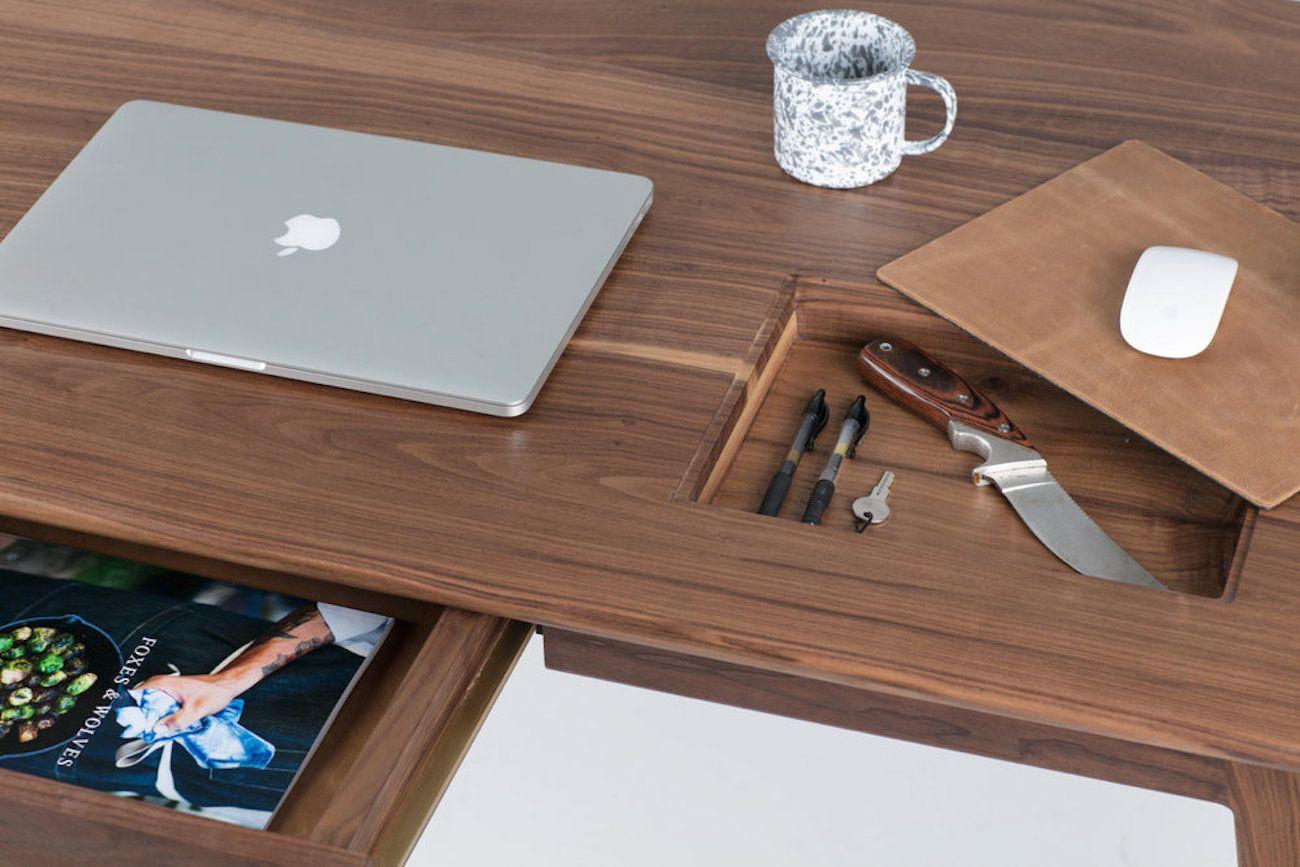 Wolf+Lockable+Wood+Desk