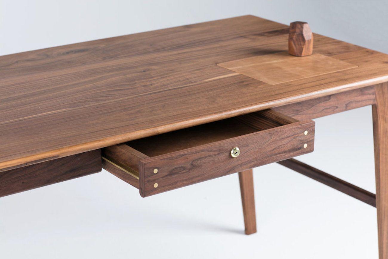 Wolf Lockable Wood Desk