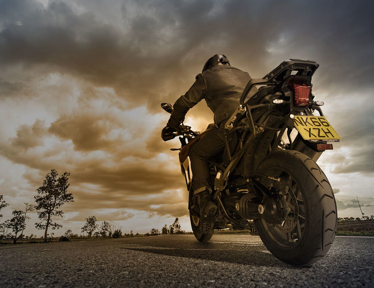 ZONA Rear-View Motorcycle System