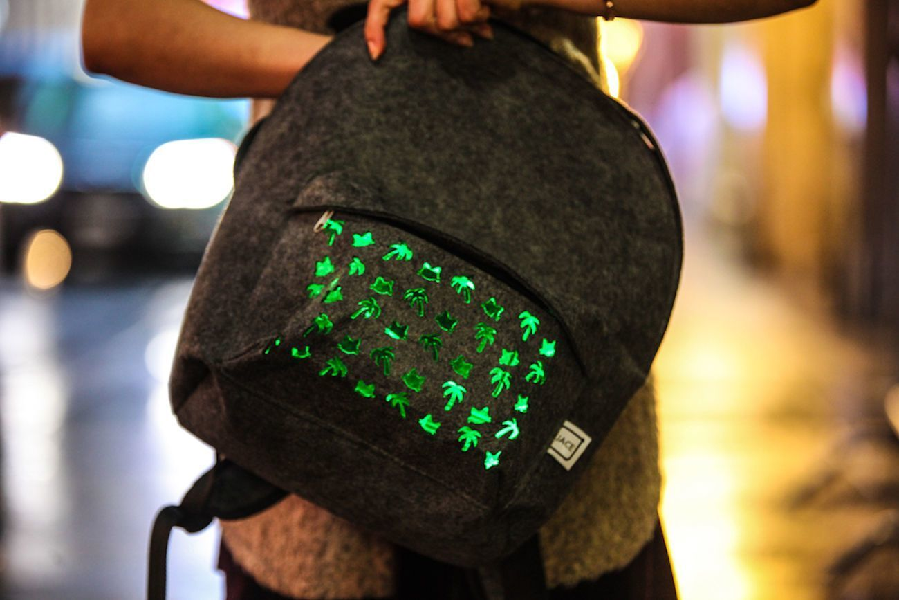 bright spark Flashy Backpack