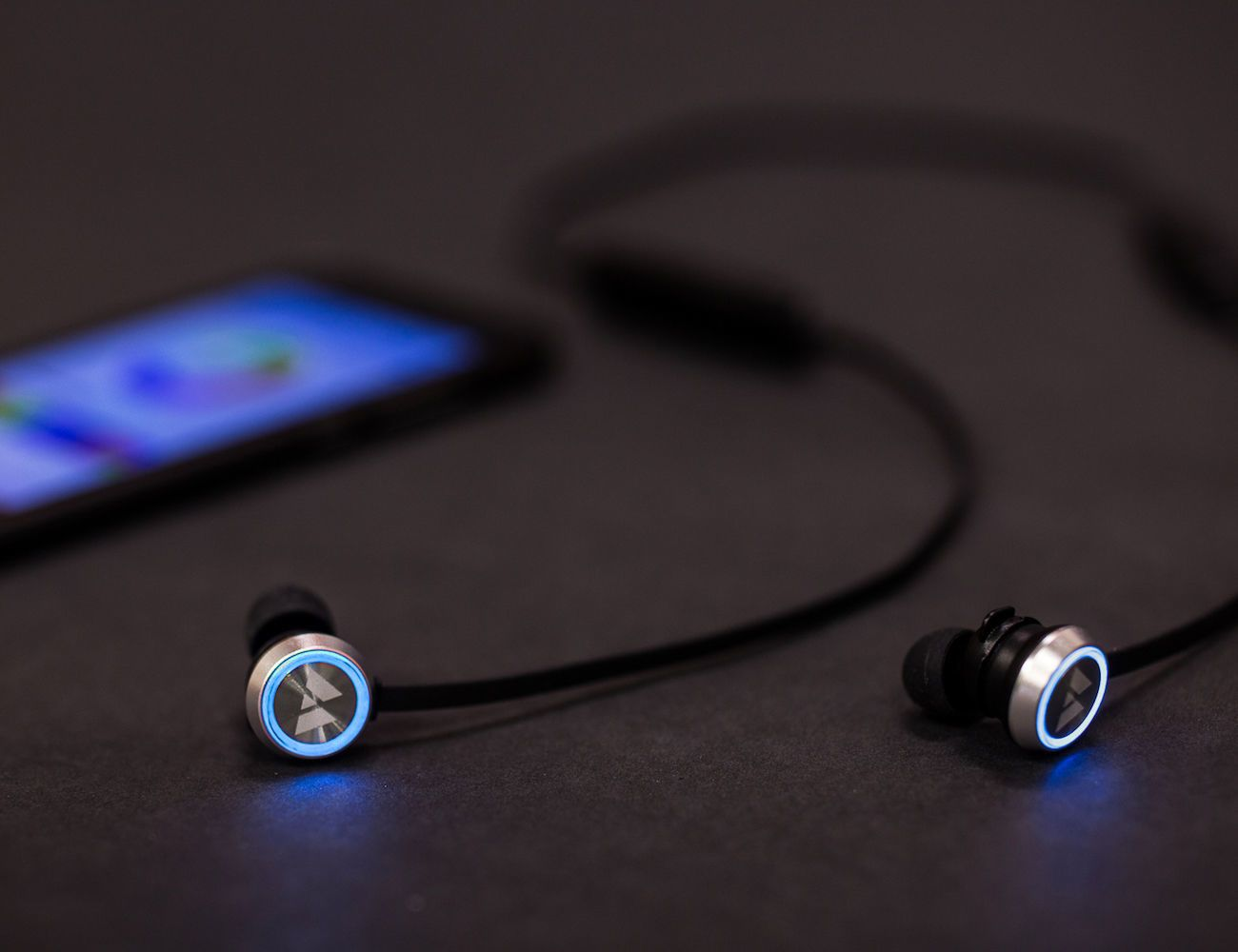 Wearhaus Beam Smart Custom Color Earbuds