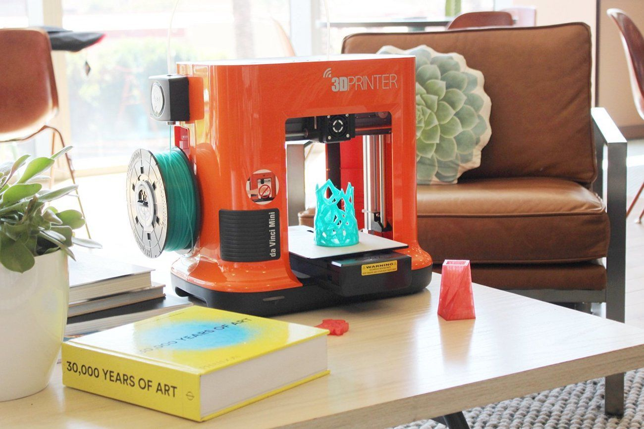 Da+Vinci+Mini+Desktop+3D+Printer