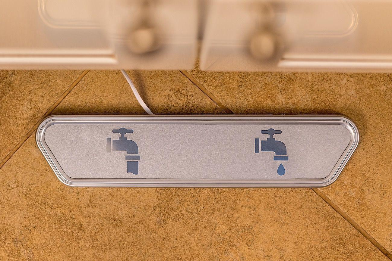 ecopedal hygienic faucet