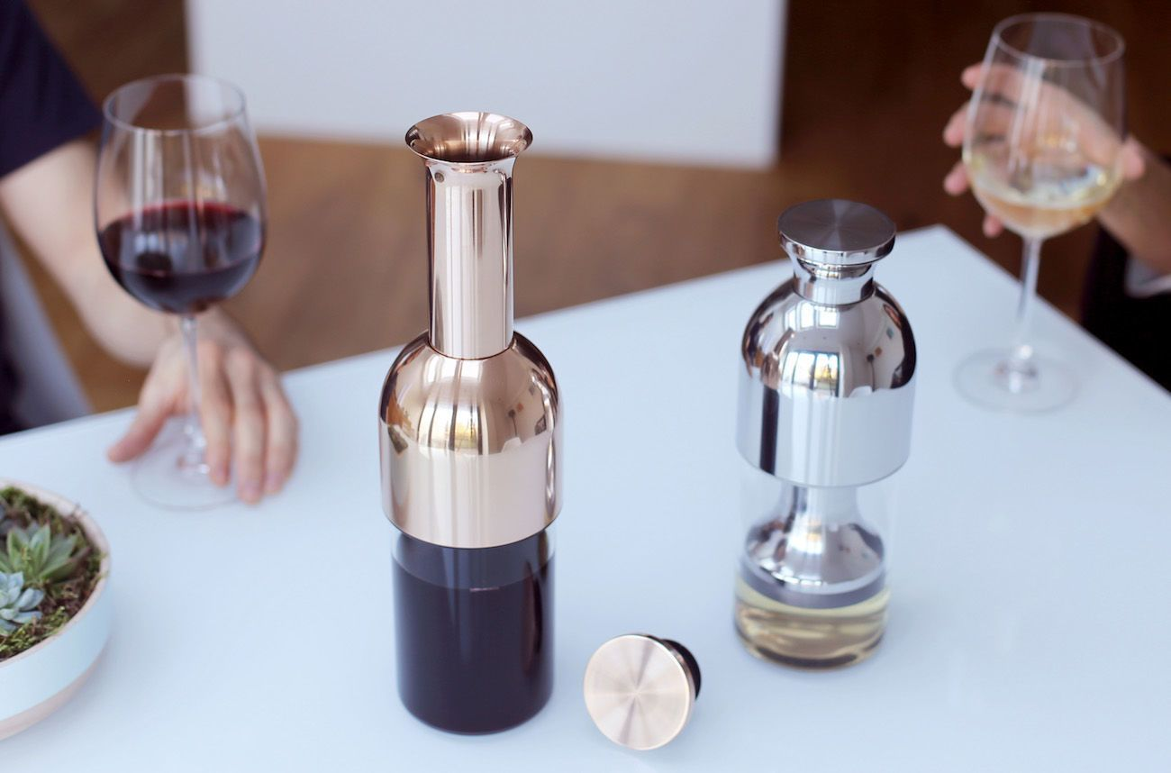 eto: Innovative Wine Preserving Decanter