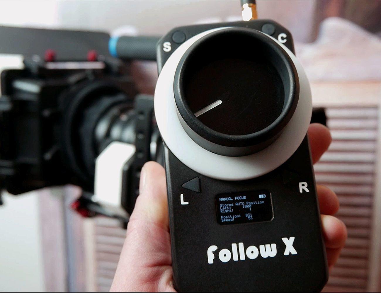 follow X Wireless Follow Focus