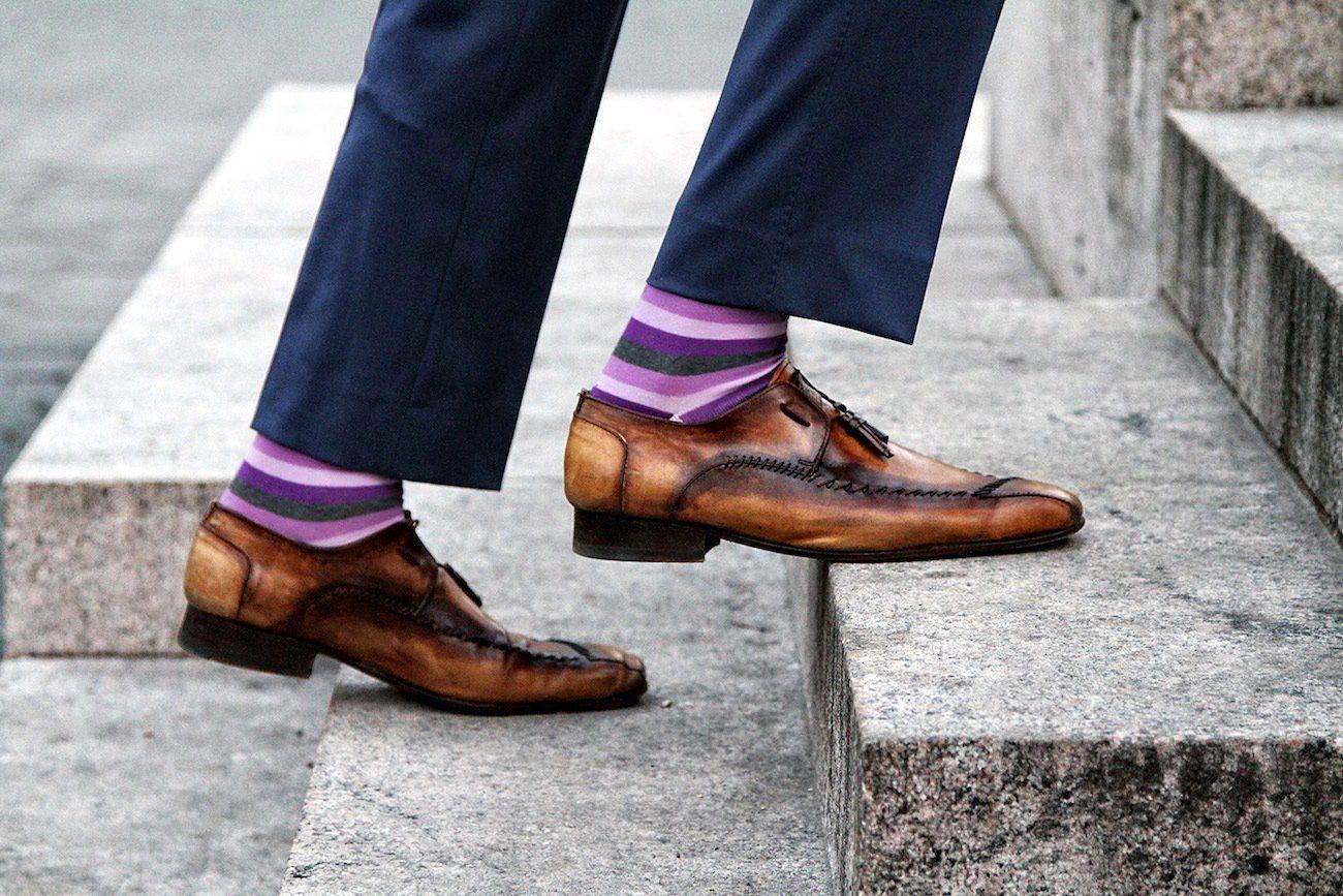 never fall down socks
