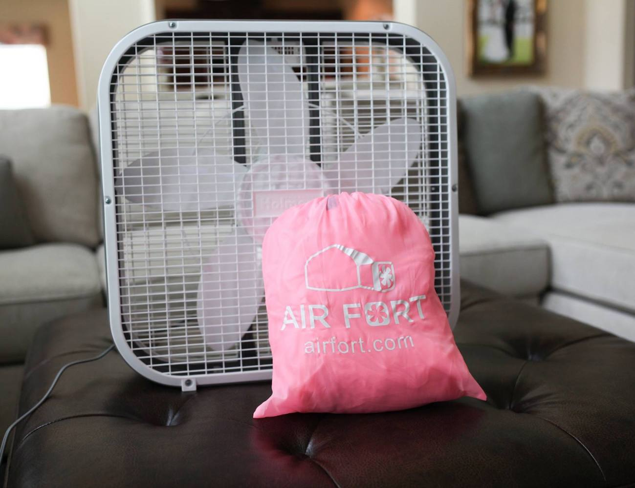 Air Fort Fan Inflating Kids Fort