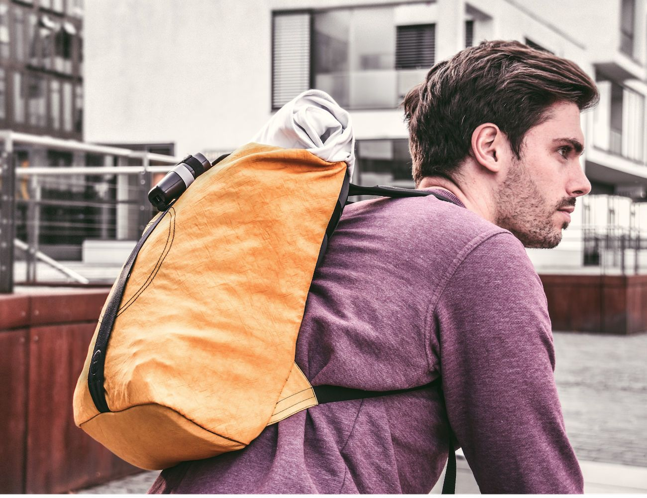 Airpaq Upcycled Airbag & Seat Belt Backpack