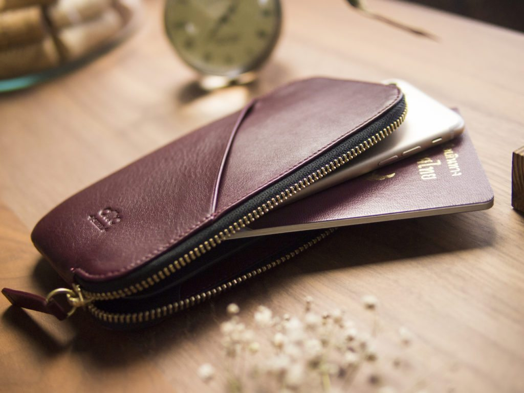 Alto+Leather+Travel+Phone+Wallet