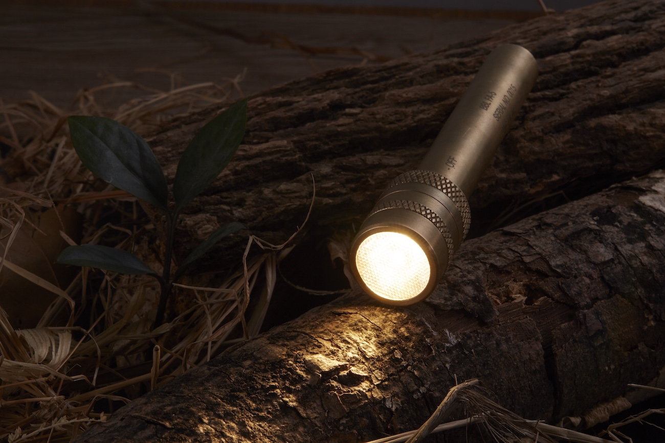 Apollo Penlight Brass Flashlight
