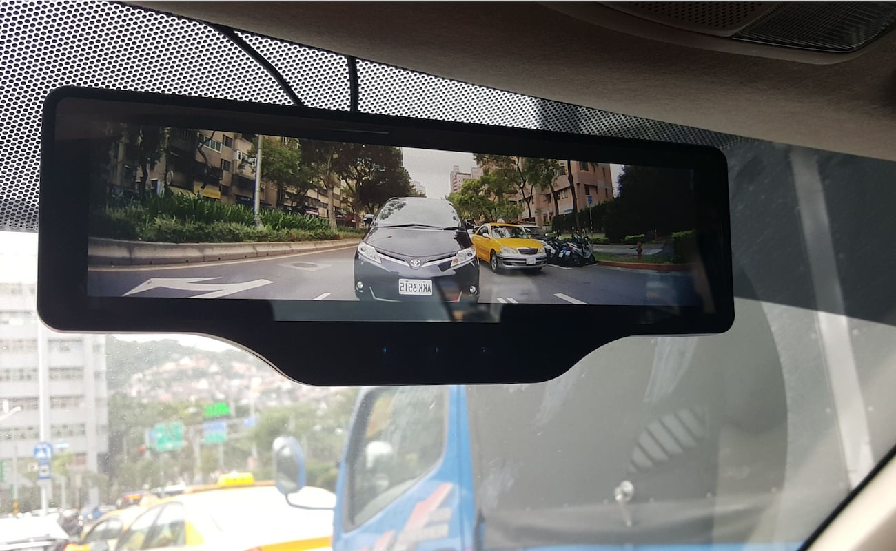 Argus FHD Smart Rearview Mirror