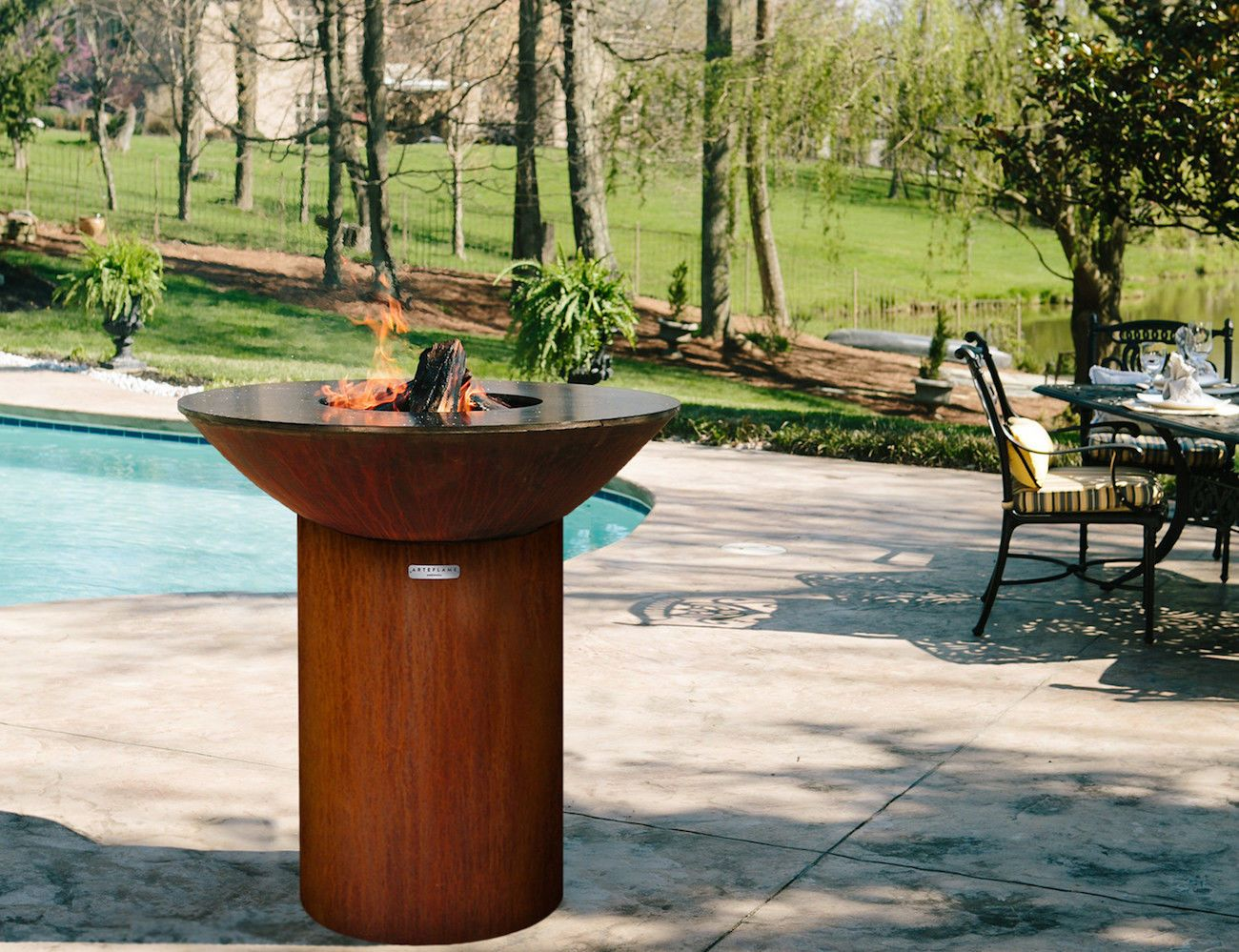 Arteflame+Classic+Contemporary+Outdoor+Grill