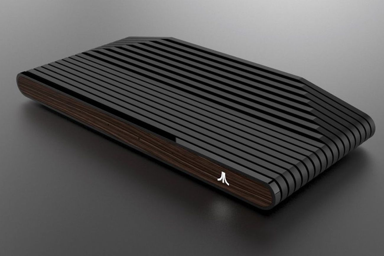Ataribox Wood Gaming Console