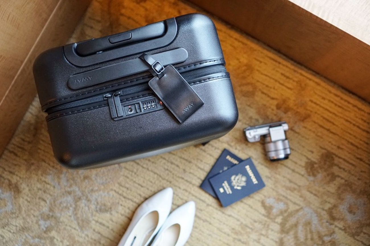 Away Travel Unbreakable Carry-On Bag