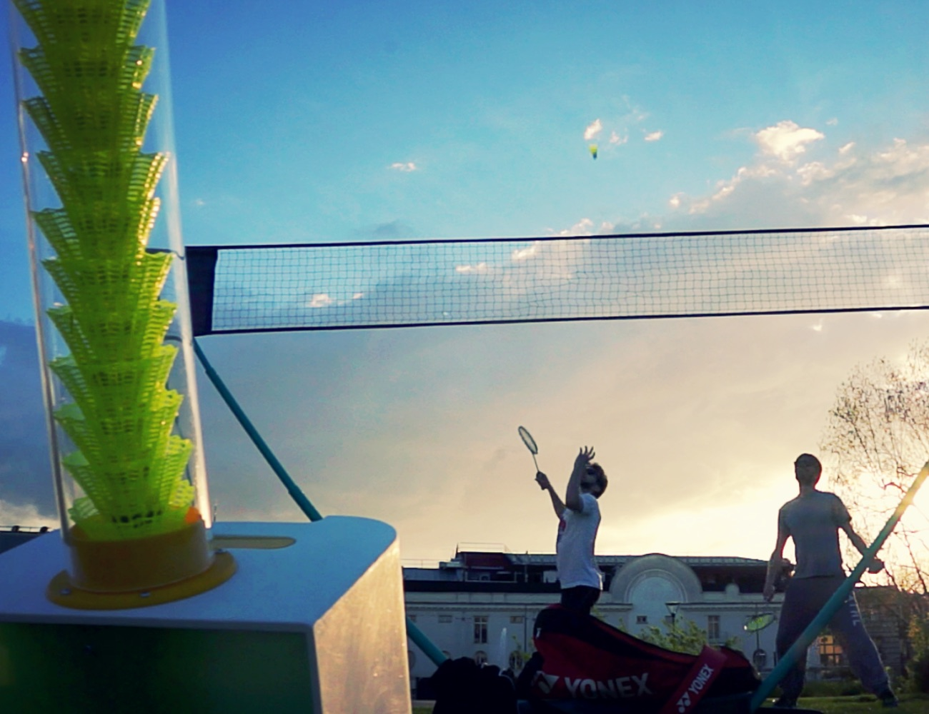 BADDY Open Source Badminton Robot