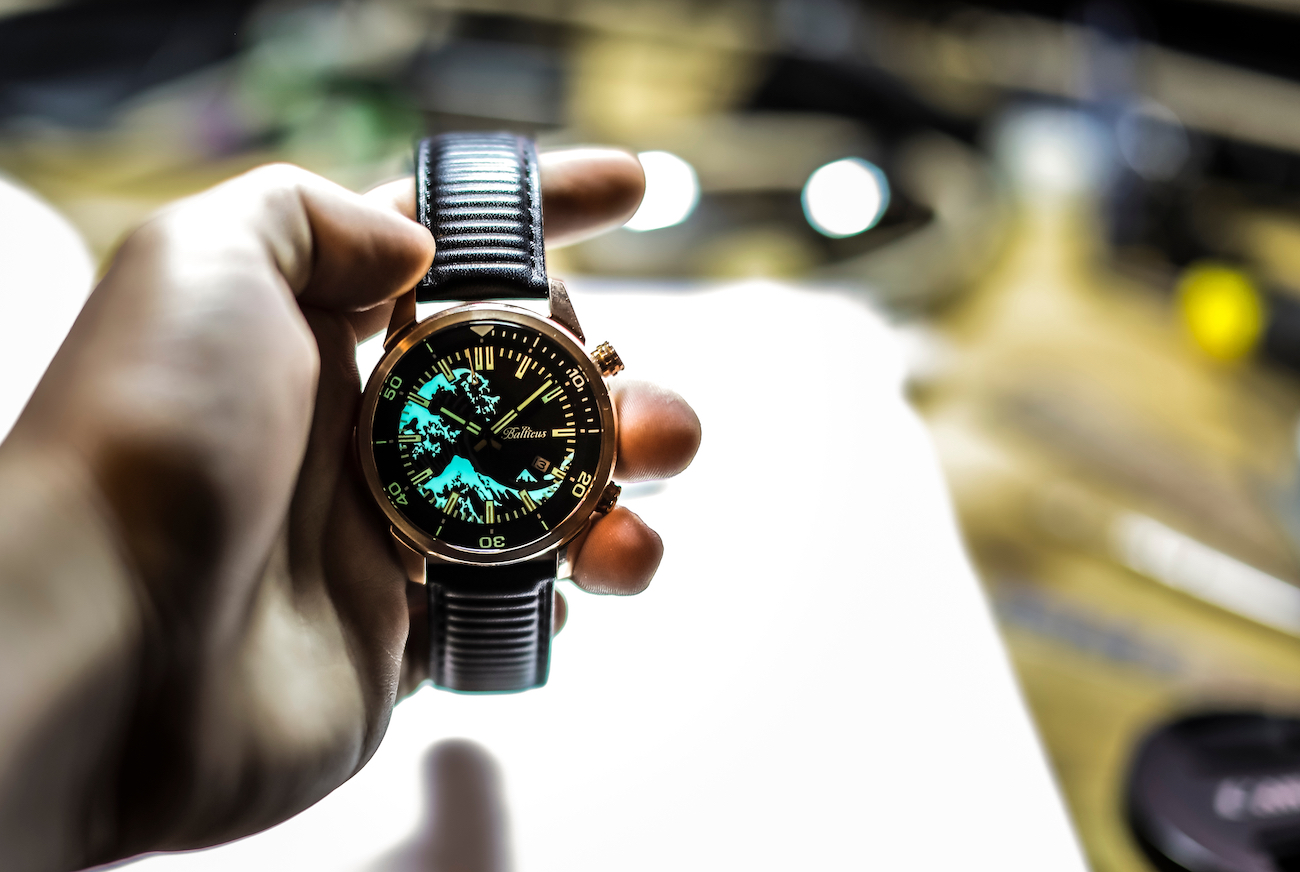 Balticus Automatic Bronze Diver's Watches
