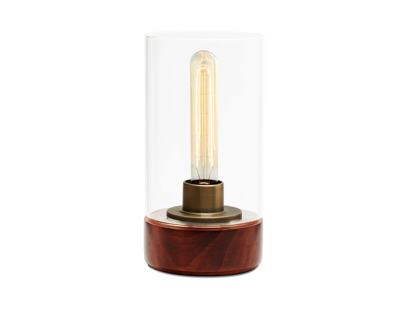 Benson Dimmable Wood Table Lamp