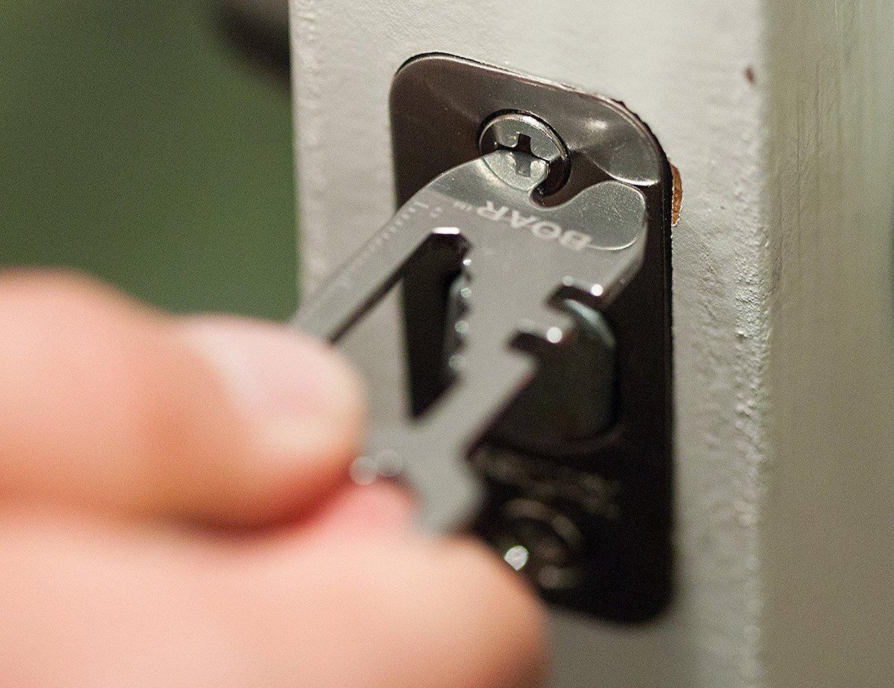 Boar 13-in-1 Stainless Steel Keychain Multi-Tool