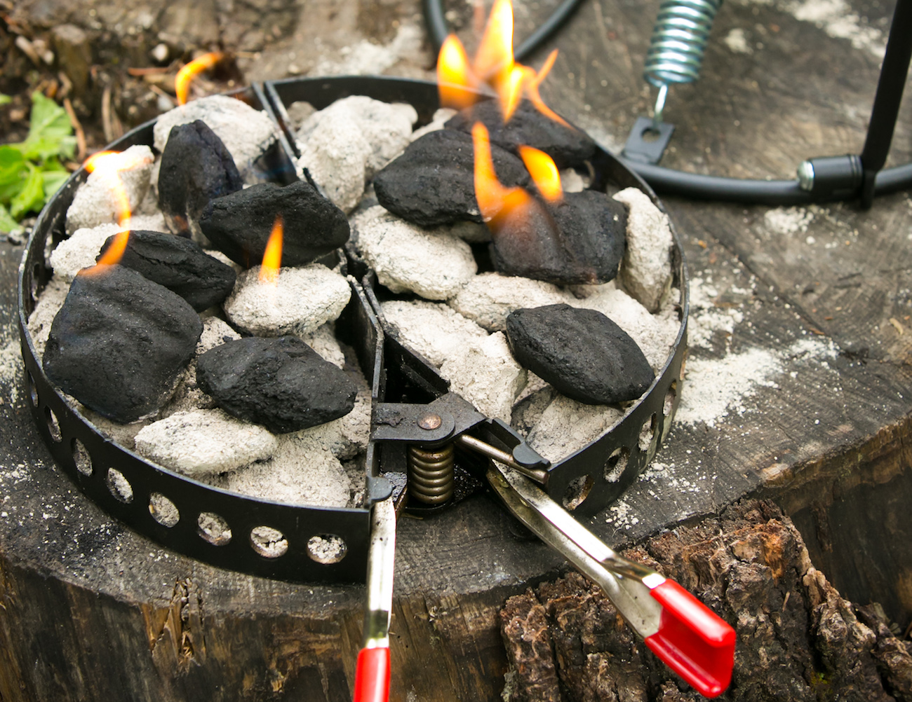CampMaid All Natural Coconut BBQ Charcoal