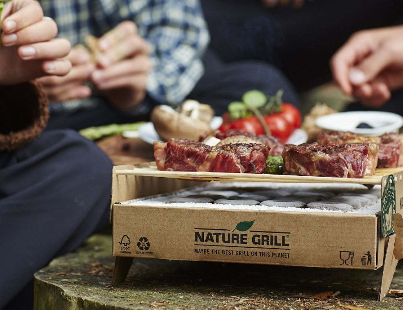 CasusGrill Biodegradable Instant BBQ