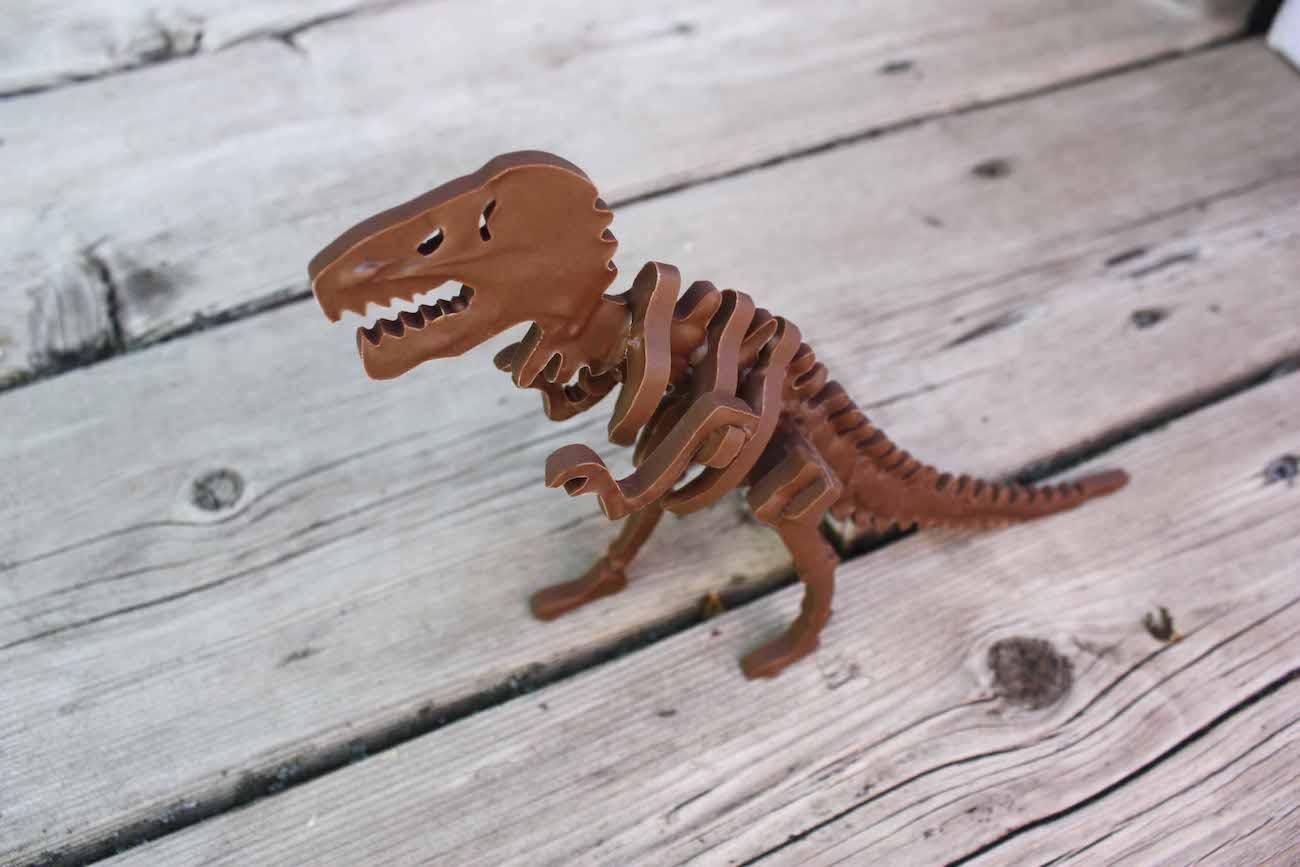 ChocolateConstruction 3D Chocolate Dinosaur Mold