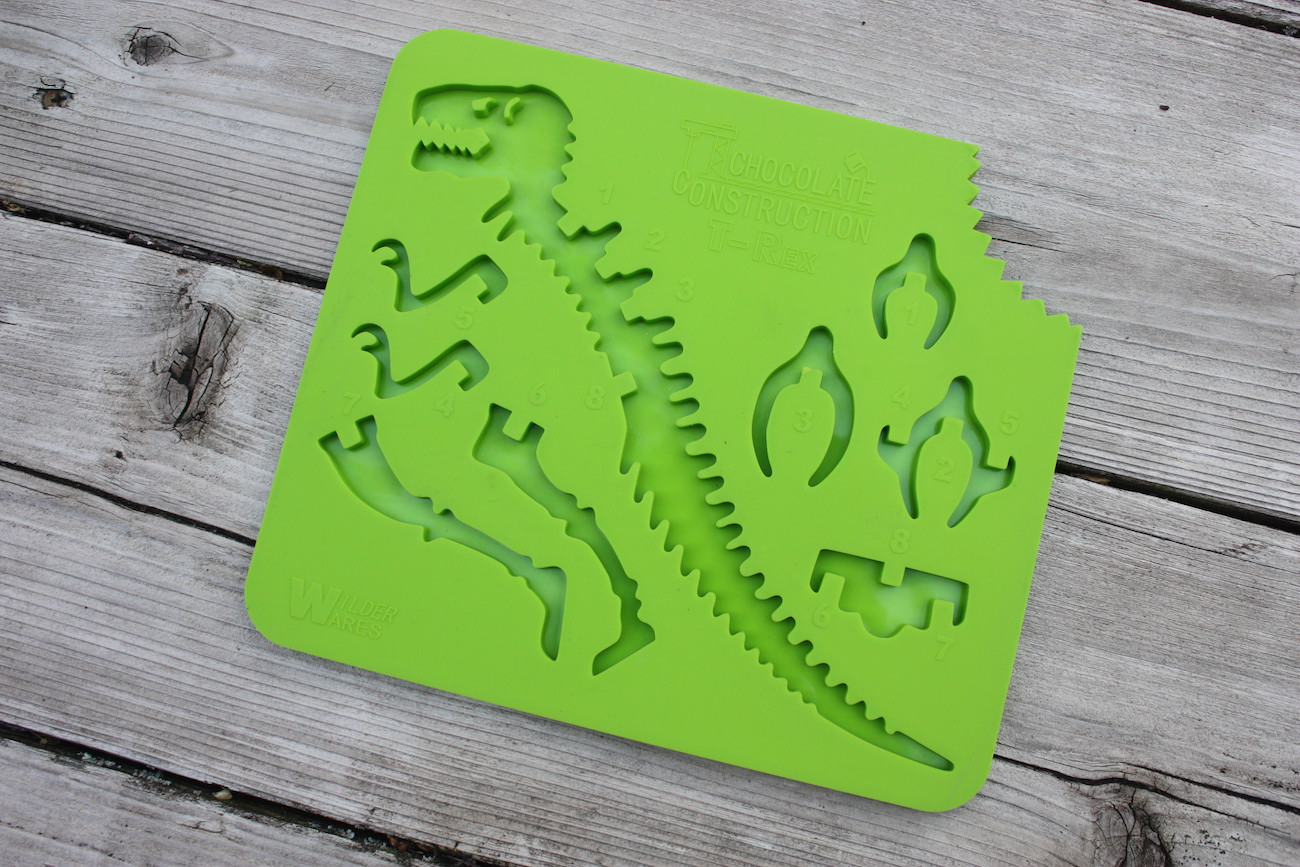 ChocolateConstruction 3D Chocolate Dinosaur Mold