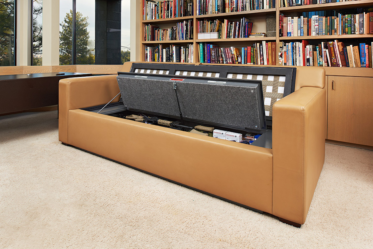 CouchBunker Hidden Safe Couch
