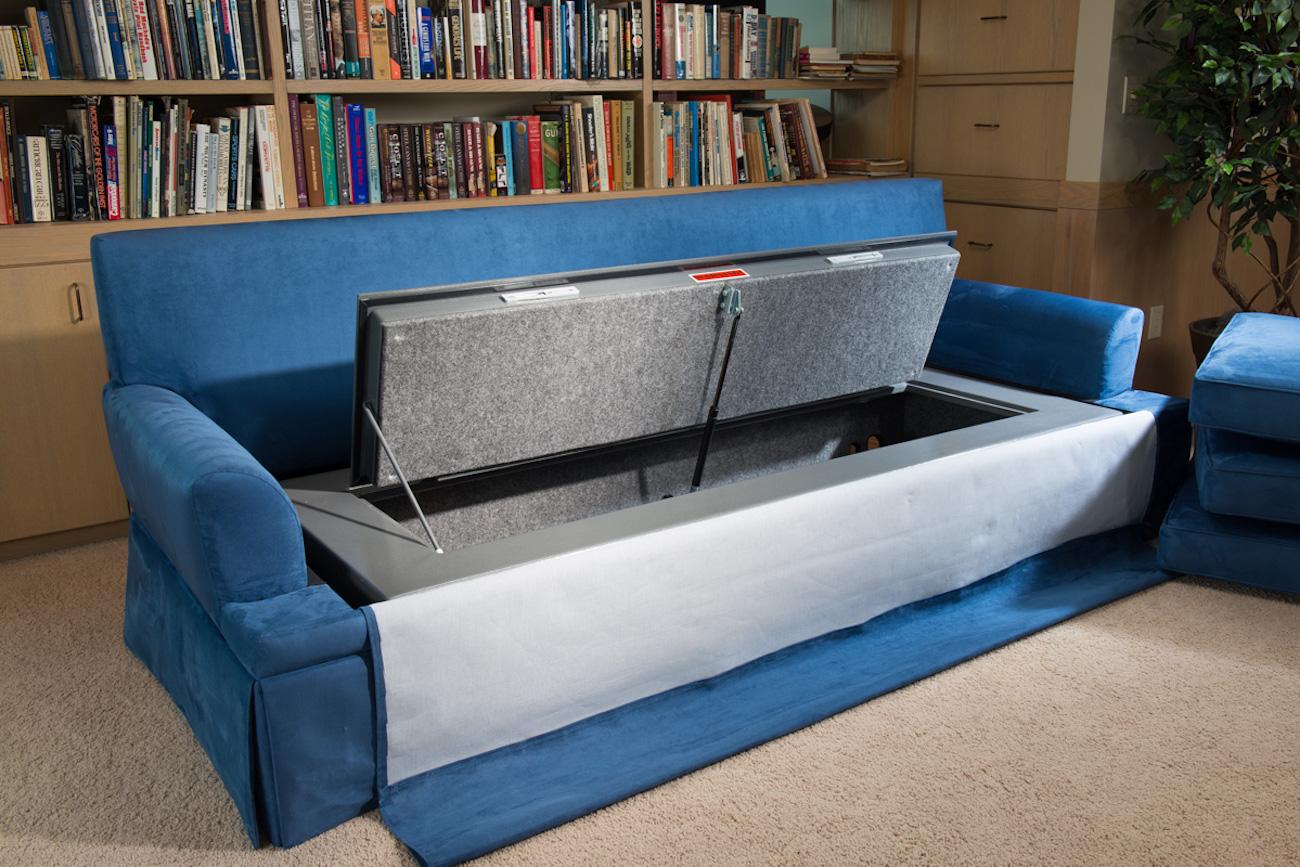 ... CouchBunker Hidden Safe Couch