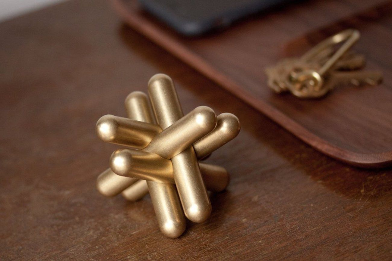 Craighill Solid Brass Jack Puzzle