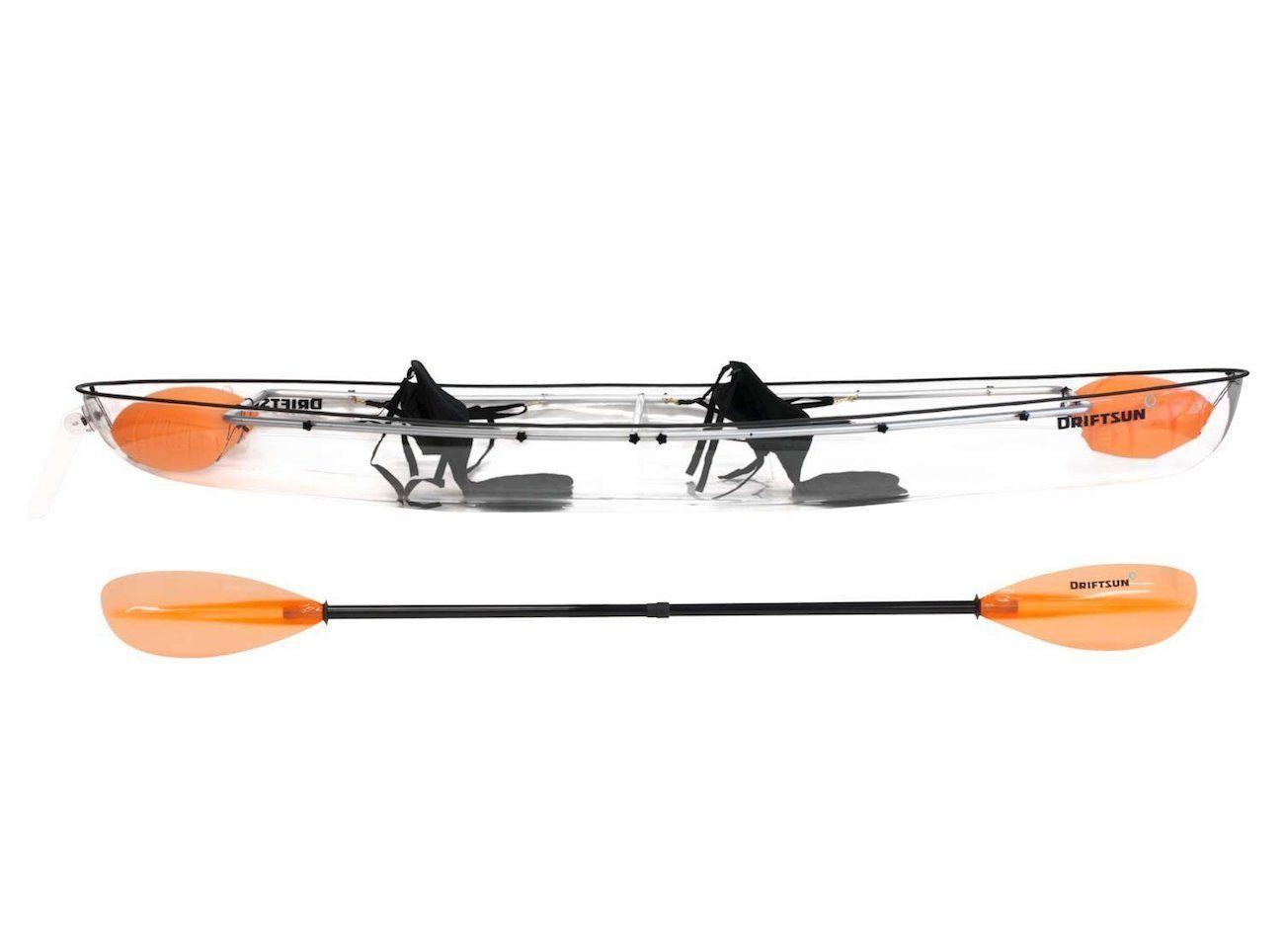 Driftsun 2-Person Transparent Kayak