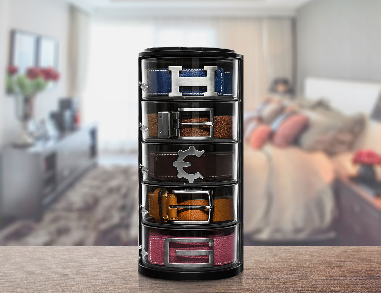 ELYPRO Tiered Belt Organizer